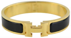 Black/Gold Narrow Clic Clac