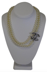 CC Pearl Necklace
