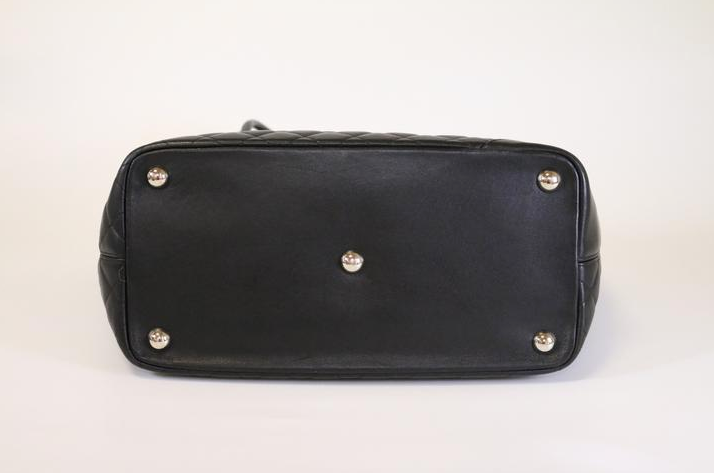 Large Black Cambon Tote