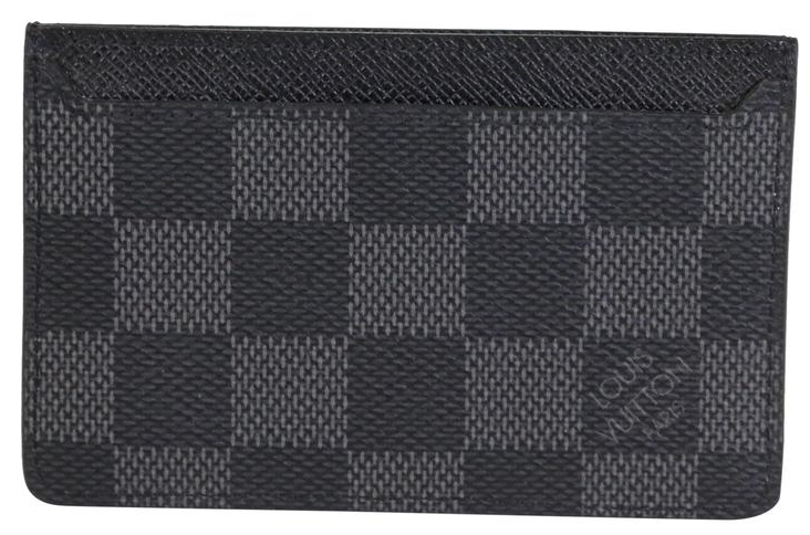 Damier Graphite Card Holder