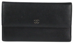 Black Caviar Trifold Wallet