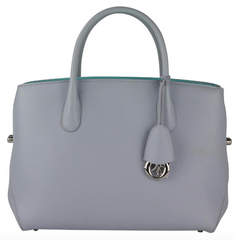 Light Blue Bar Tote