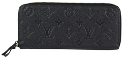Black Empriente Zip Wallet