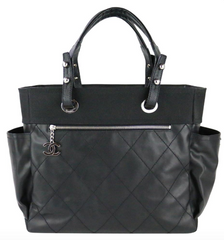 Black Paris Biarritz Large Tote
