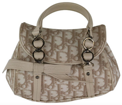 Beige Monogram Mini Trotter Bag