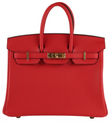 Vermillion Birkin 25