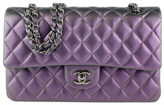 Purple Iridescent Medium Flap
