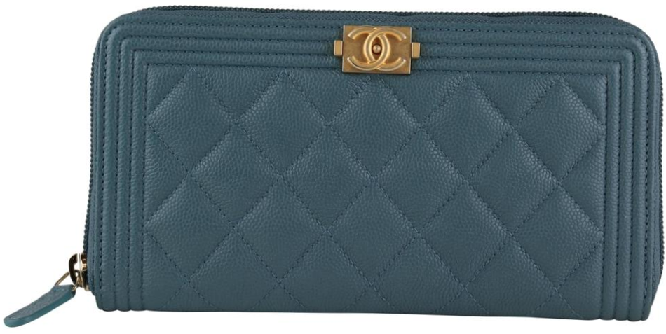 Blue Caviar Boy Zip Wallet