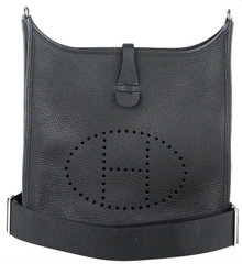 42729e2d7844 Black Evelyne PM · Hermes