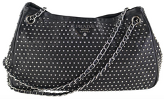 Black Studded Bowler
