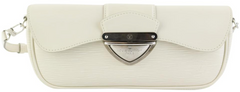 White Epi Montaigne Clutch