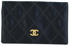 Black Satin Card Case