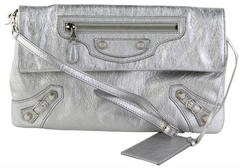 Silver Giant 12 Envelope Clutch
