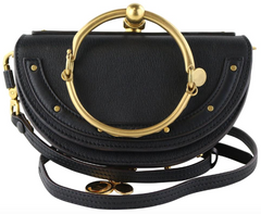 Black Nile Minaudière Bracelet Bag