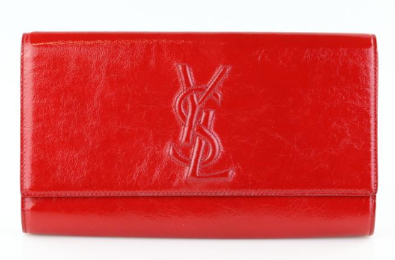 Red Belle de Jour Clutch