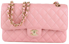 Pink Iridescent Medium Flap