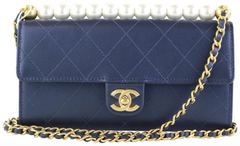 Navy Clutch on a Chain