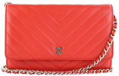 Red Caviar Chevron WOC
