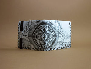 Handmade Wallet - Space Creature
