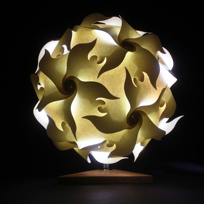 Portable Puzzle Lamp - Flower Sun