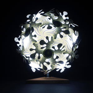 Portable Puzzle Lamp - Cosmic Splash