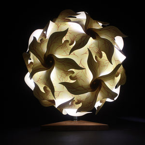Portable Puzzle Lamp - Flower Roots