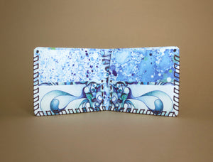 Handmade Wallet - Water Beings