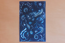 Print on Fabric - Deep Blue