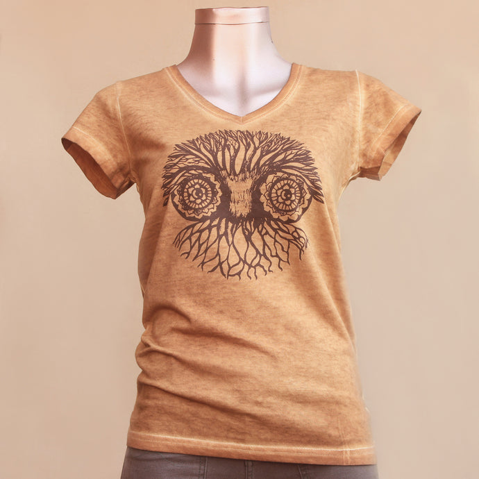 T-shirt - Owl - Woman