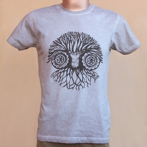 T-shirt - Owl - Man
