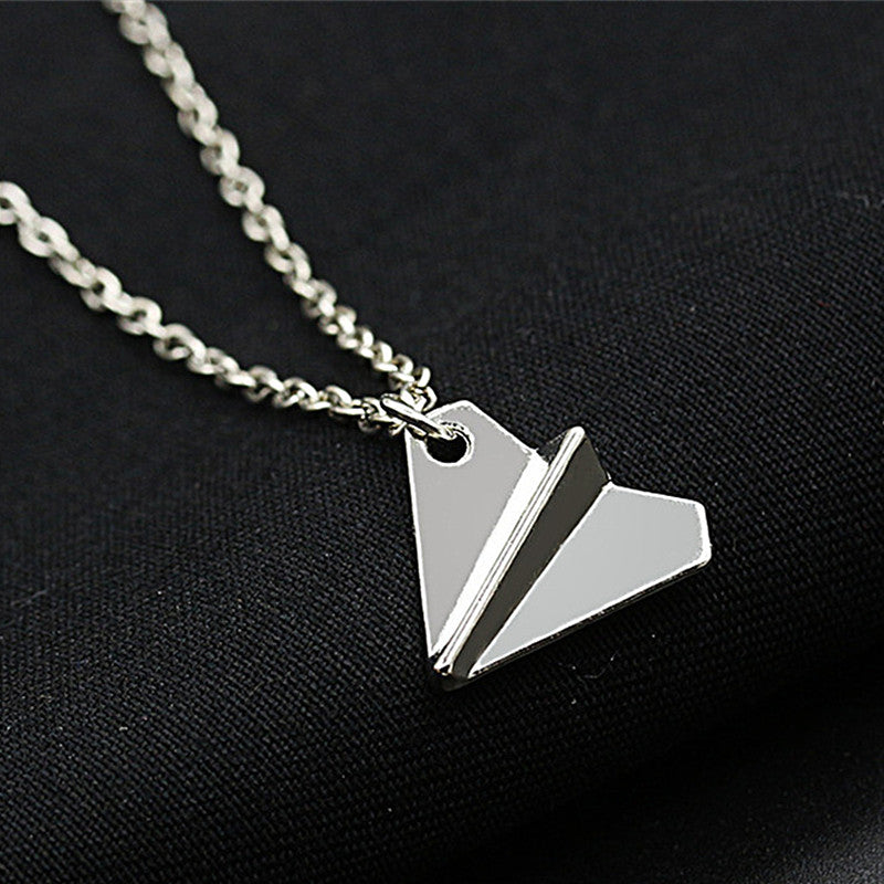 Aircraft Necklace - Origami Design
