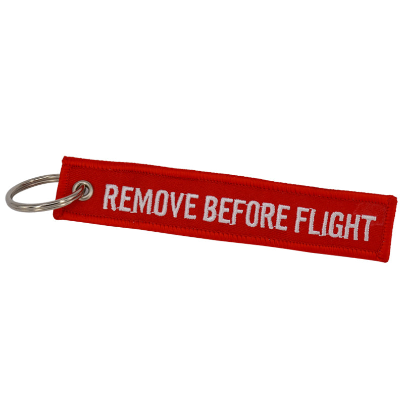 Remove Before Flight Key Chain (Set of 3)