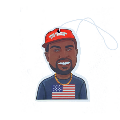Buy Kanye Keep America Great - Car Air Freshener (MAGA Trump) Accessories online, best prices, buy now online at www.GrabThisNow.co