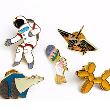 Load image into Gallery viewer, Buy Polar Bear, Balloon Dog & Space - Top Selling Pins (Spring) Pins online, best prices, buy now online at www.GrabThisNow.co