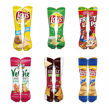 Load image into Gallery viewer, Buy Potato Chips Knee High Socks Socks online, best prices, buy now online at www.GrabThisNow.co