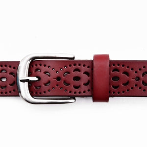 Buy Flora - Luxury Leather Pattern Belt, Assorted Colours + Universal Fit Belts online, best prices, buy now online at www.GrabThisNow.co