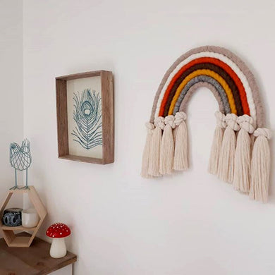 Rainbow Boho - Handmade Macrame Hanging Decoration