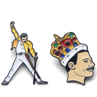 Buy Freddie Mercury Brooch Pins online, best prices, buy now online at www.GrabThisNow.co