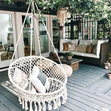 Buy Boho Round Seat Swing / Hammock Home online, best prices, buy now online at www.GrabThisNow.co