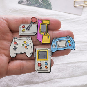 Buy Retro Arcade - Clothing Pin Pins online, best prices, buy now online at www.GrabThisNow.co