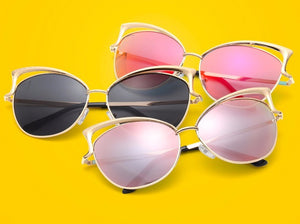 Buy Cat Eye Lux - Tinted Vintage Sunglasses  online, best prices, buy now online at www.GrabThisNow.co