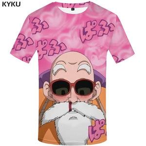 Goku & Roshi - 3d Dragon Ball Tee
