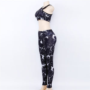 Buy Sparke - 2 Piece Legging + Crop Top Combo Gym Clothes online, best prices, buy now online at www.GrabThisNow.co