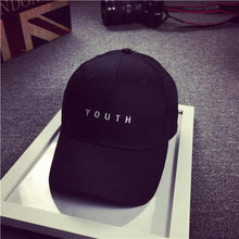 Load image into Gallery viewer, Buy Y O U T H - Fashionable Unisex Cap Hats online, best prices, buy now online at www.GrabThisNow.co