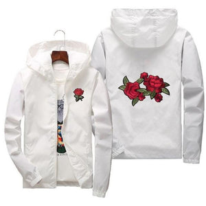 Buy Roses Swag - Universal Zipper Jacket Jackets online, best prices, buy now online at www.GrabThisNow.co