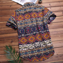 Load image into Gallery viewer, Buy Azteka - Tropical Boho Button Up Shirt T-Shirt online, best prices, buy now online at www.GrabThisNow.co