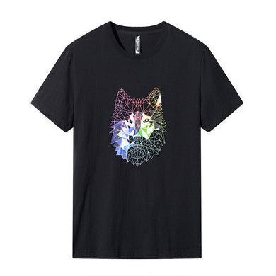 Buy Geo Wolf - Cool T-Shirt Design T-Shirt online, best prices, buy now online at www.GrabThisNow.co