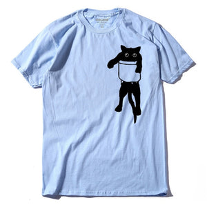 Buy Pocket Cat - Cool Kitty Cat T-Shirt T-Shirt online, best prices, buy now online at www.GrabThisNow.co