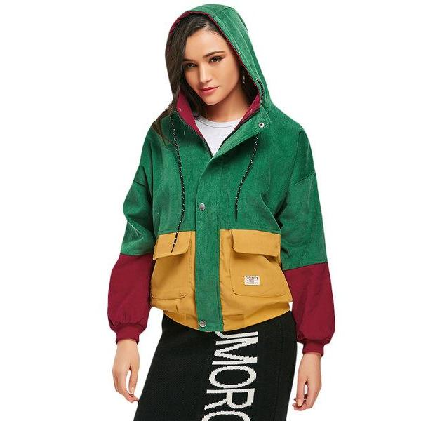 Buy UQ Patch Hoodie - Multicolor Jacket with Pockets Jackets online, best prices, buy now online at www.GrabThisNow.co