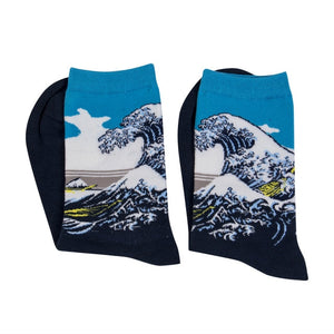 Buy Classic Vincent - Oil Painting Socks  online, best prices, buy now online at www.GrabThisNow.co